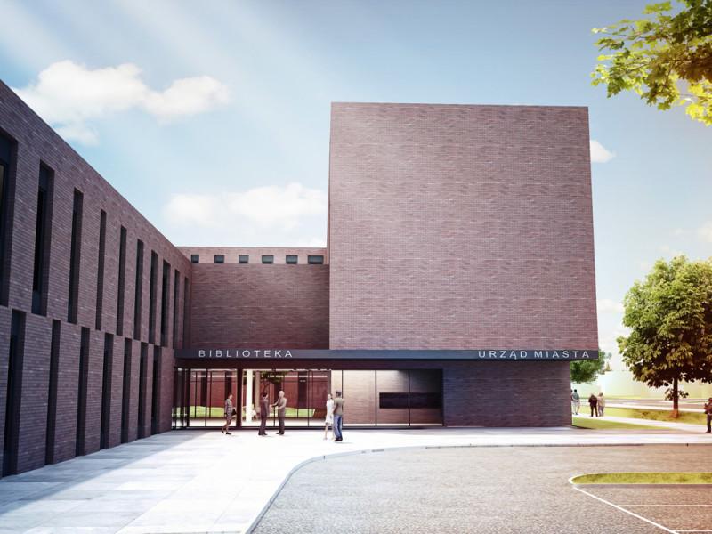 Projekt Biblioteki w Czechowicach Dziedzicach 3