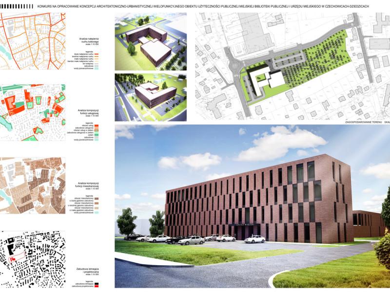 Projekt Biblioteki w Czechowicach Dziedzicach 5