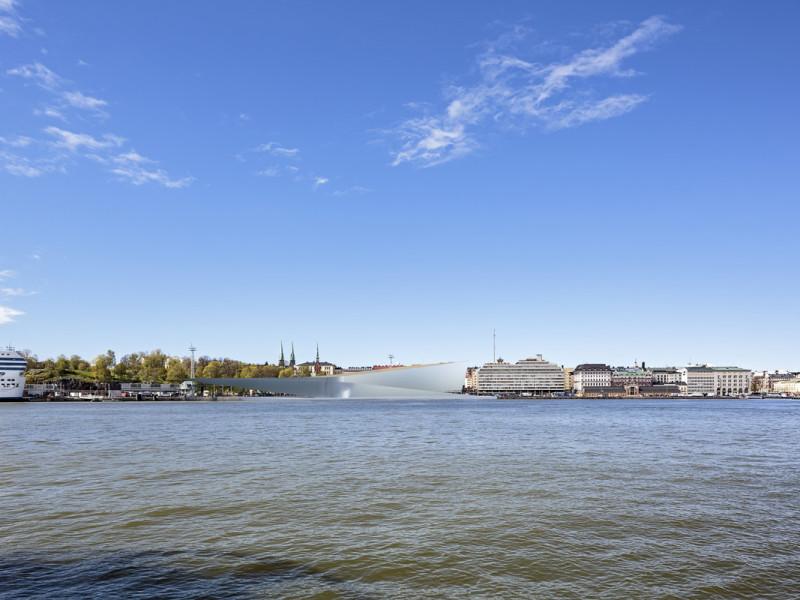 Projekt konkursowy Guggenheim Helsinki 1