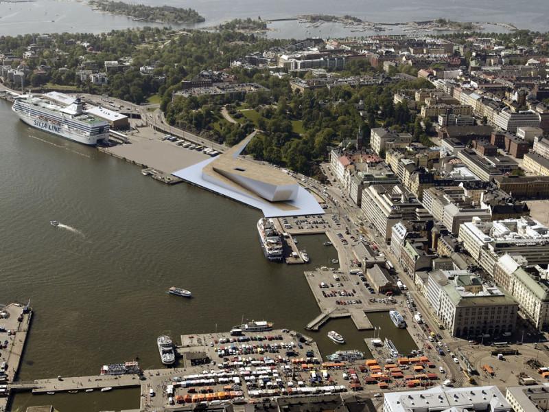 Projekt konkursowy Guggenheim Helsinki 3