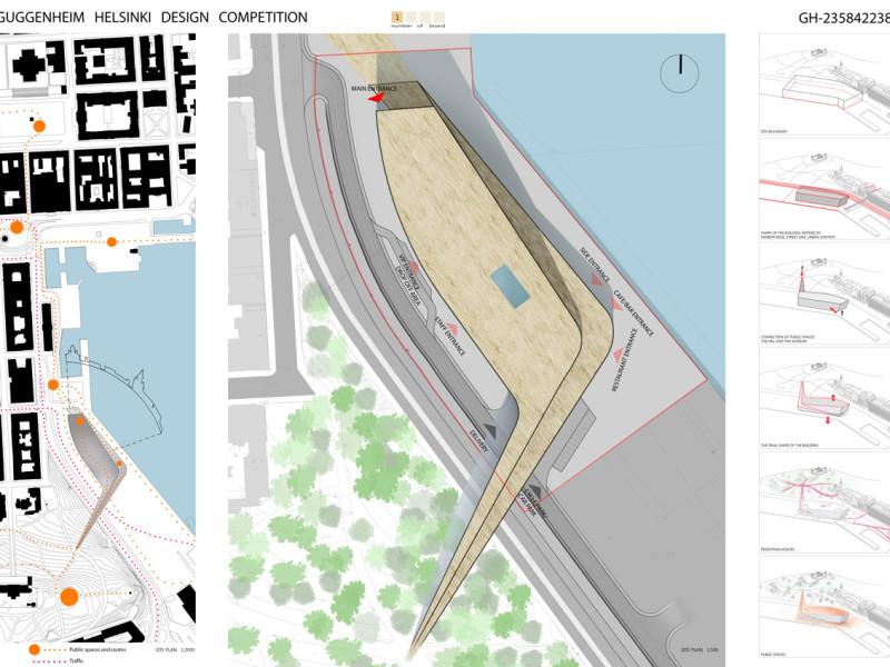 Projekt konkursowy Guggenheim Helsinki 7