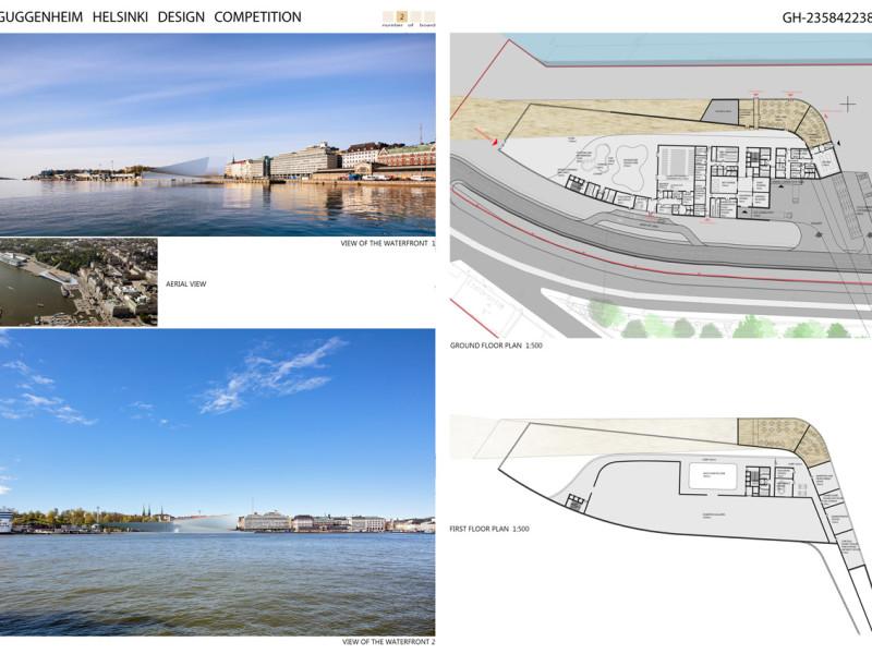 Projekt konkursowy Guggenheim Helsinki 8